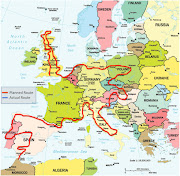 Planned RouteEurope. Posted by Nick Bradshaw at 5:30 PM
