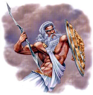 dios cielo antiguo raza: