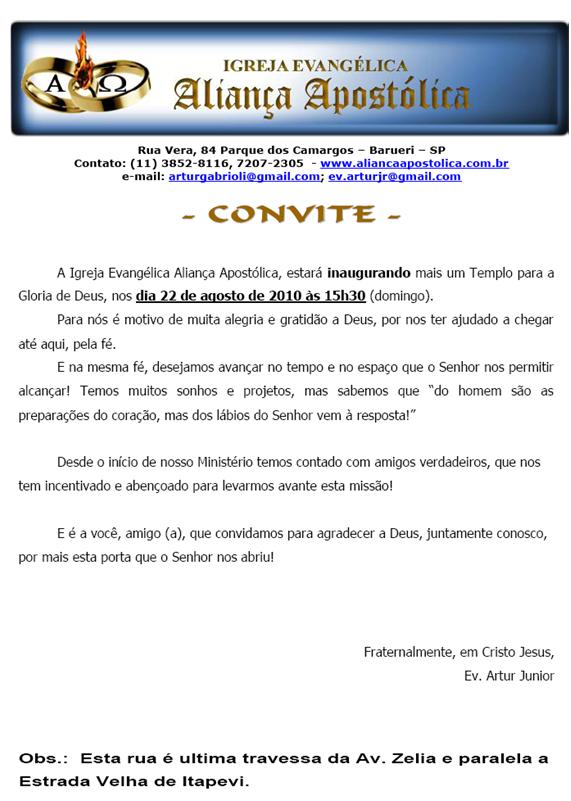 Modelos de Convites | Vários Modelos de Convites