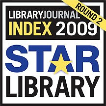Named a Four Star Library by <i>Library Journal</i>