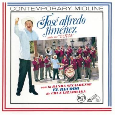 Jose Alfredo Jimenez Con Banda - Canta Sus Exitos Con La Banda El Recodo Jaj