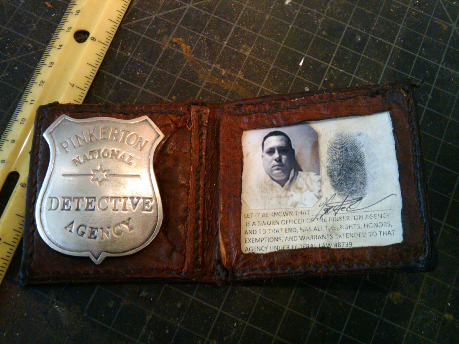 Propnomicon Pinkerton Credentials