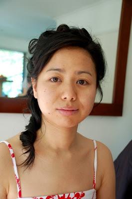 Gold Coast Wedding Makeup And Hair : Brisbane Asian Makeup - Chinese Bride Sarahs Wedding ...