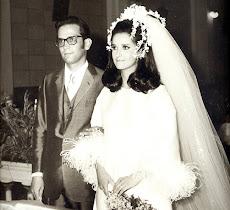 O casamento dos filhos: Zélia e Celso