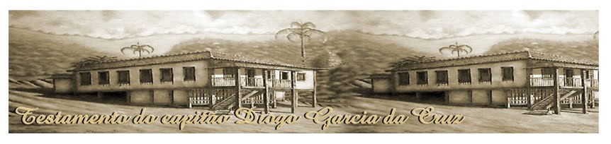 Testamento do capitão Diogo Garcia da Cruz