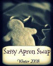 Winter Sassy Apron