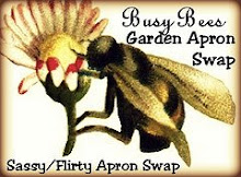 Busy Bee Garden Party Apron Swap