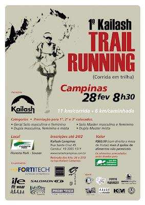 Trail Running chegando pra valer em 2010