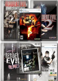 Resident Evil 1,2,3,4,5,0 Collection