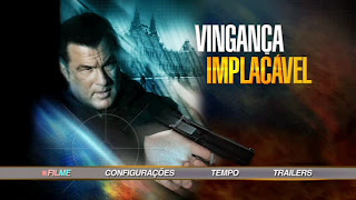 Vingança Implacável DVD R