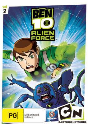 ben+ +2 Ben 10: Força Alienígena – 2ª Temporada Completa TVRip Dublado