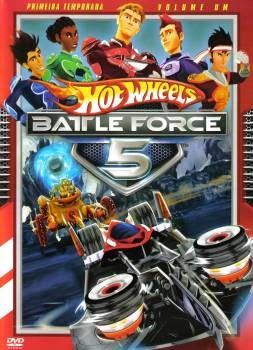 Hot+Wheels+Battle+Force+5 Hot Wheels Battle Force 5 1ª Temporada Completa DVDR