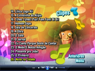 01 Cocoricó 26 Clipes Musicais na Cidade DVD R