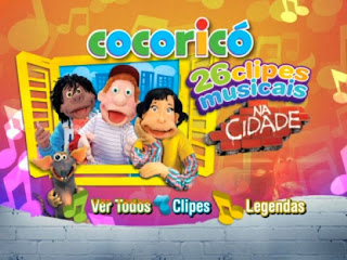 03 Cocoricó 26 Clipes Musicais na Cidade DVD R