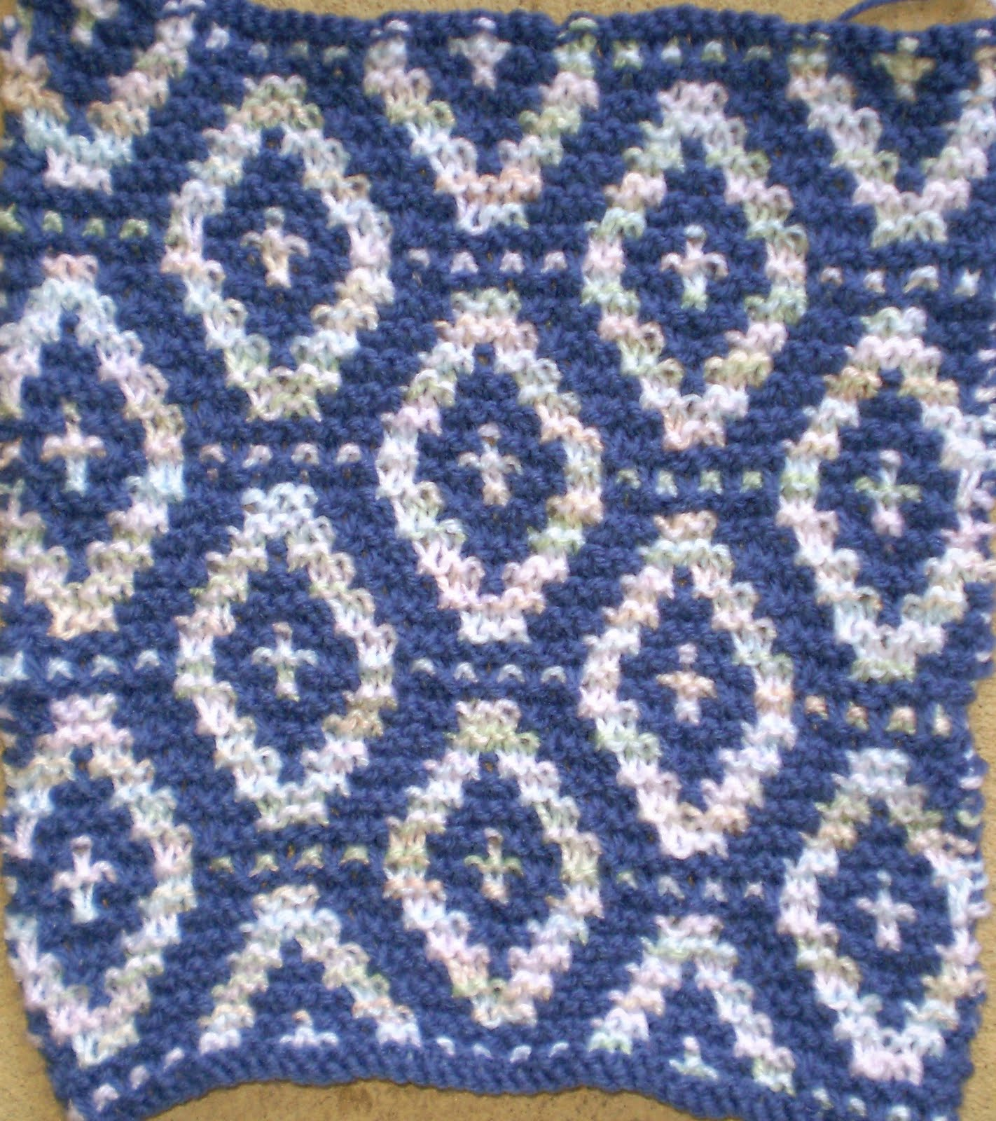 Slip Stitch Knitting Baby Blanket Pattern : never too hot to stitch!: knitting for charity