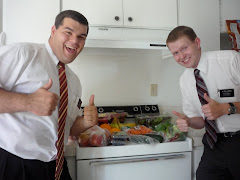 Jason and Elder Larsen