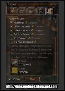 """Quest - An Obvious Lie - """"Orelhinha Lineage 2"""" 06"""