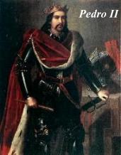 Pedro II Rey de aragón