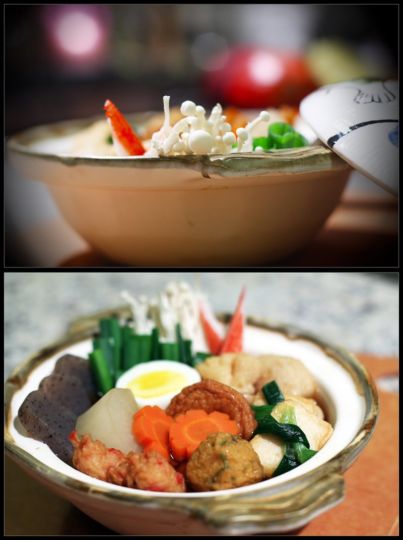 O-den, Japanese Food, Food Photography