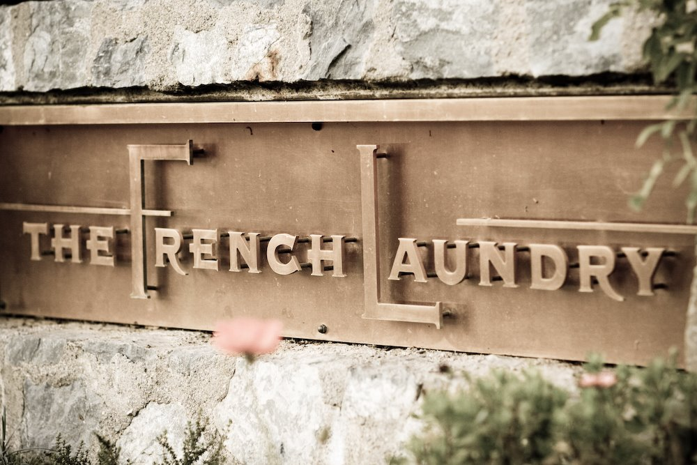 French Laundry Sign