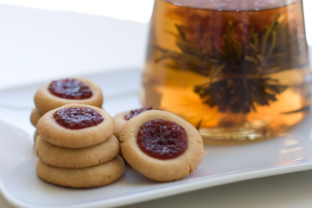 Thumbprint Cookies with Quince Paste Prep