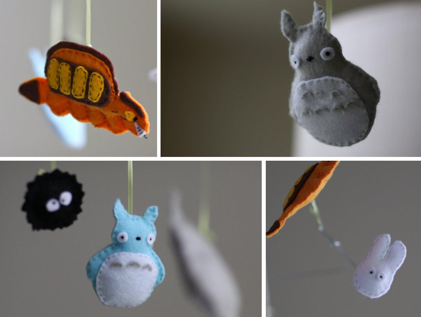Felt Totoro Mobile
