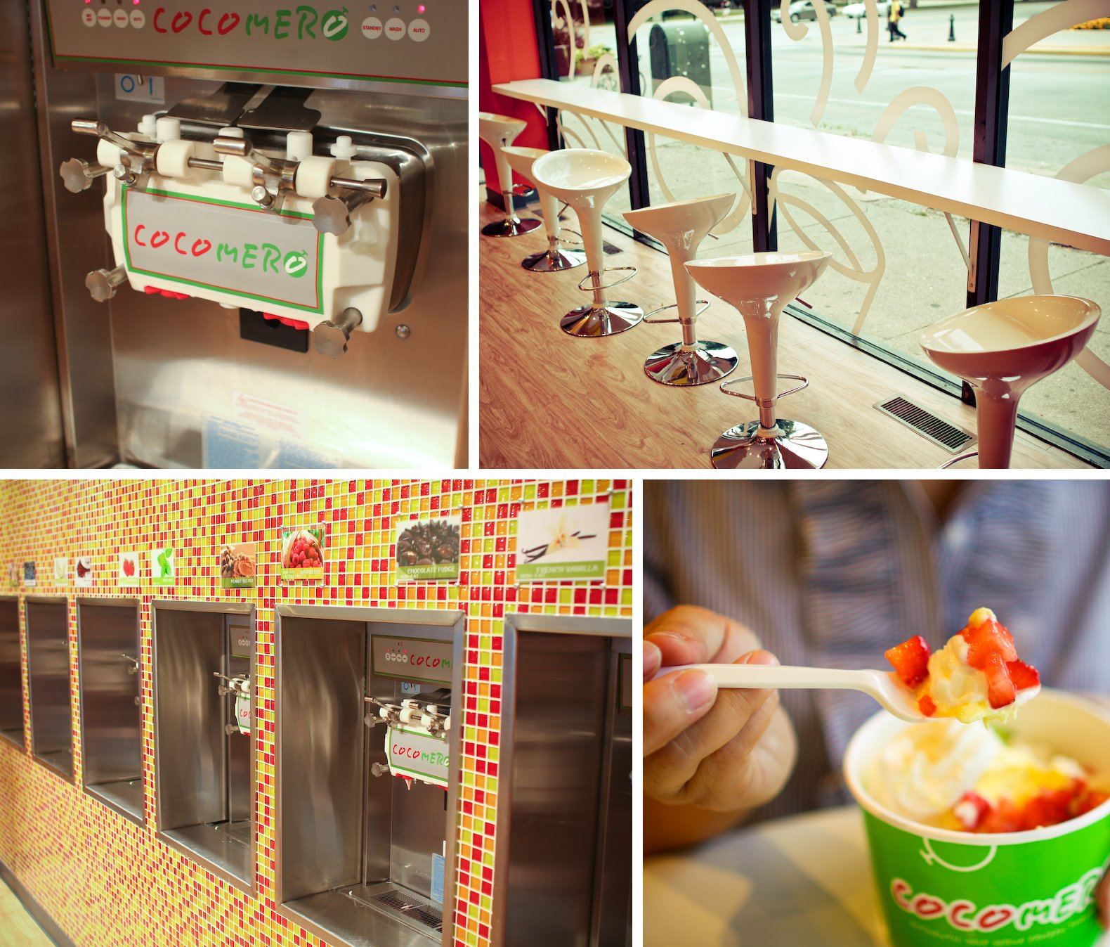Cocomero, UIUC, Champaign-Urbana, Self-serve Frozen Yogurt