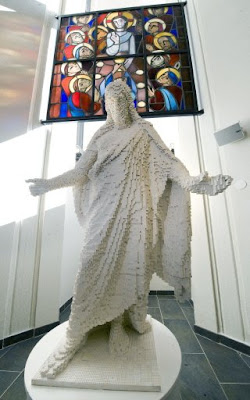 All hail the Lego Jesus
