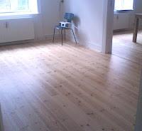 Boligindretning, renovering af gulv,  færdig resultat,  www.livingplus.dk