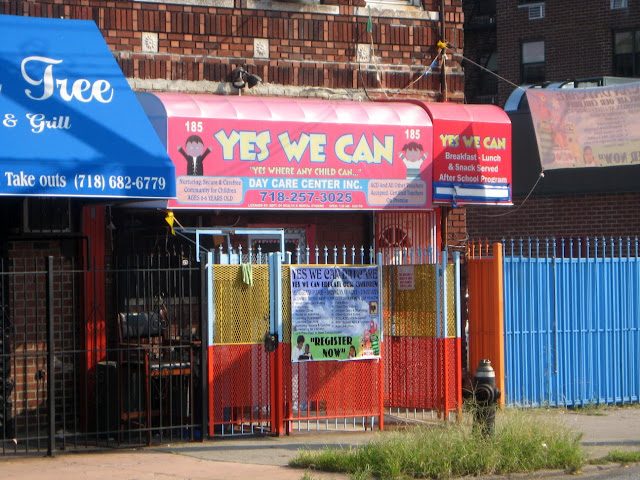 Day care in Brooklyn called yes we can