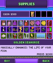 Fish tycoon mobile faq may 2010 for Fish tycoon 2 breeding chart