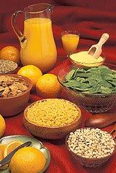 Good food sources of folate. Photo courtesy of USDA, ARS