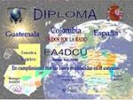 DIPLOMA GUATEMALA COLOMBIA ESPAÑA