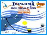 DIPLOMA PERMANENTE PUERTOS NAUTICOS DE ESPAÑA