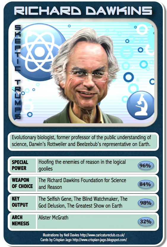 The Reason Stick  Skeptic Trumps  Richard Dawkins