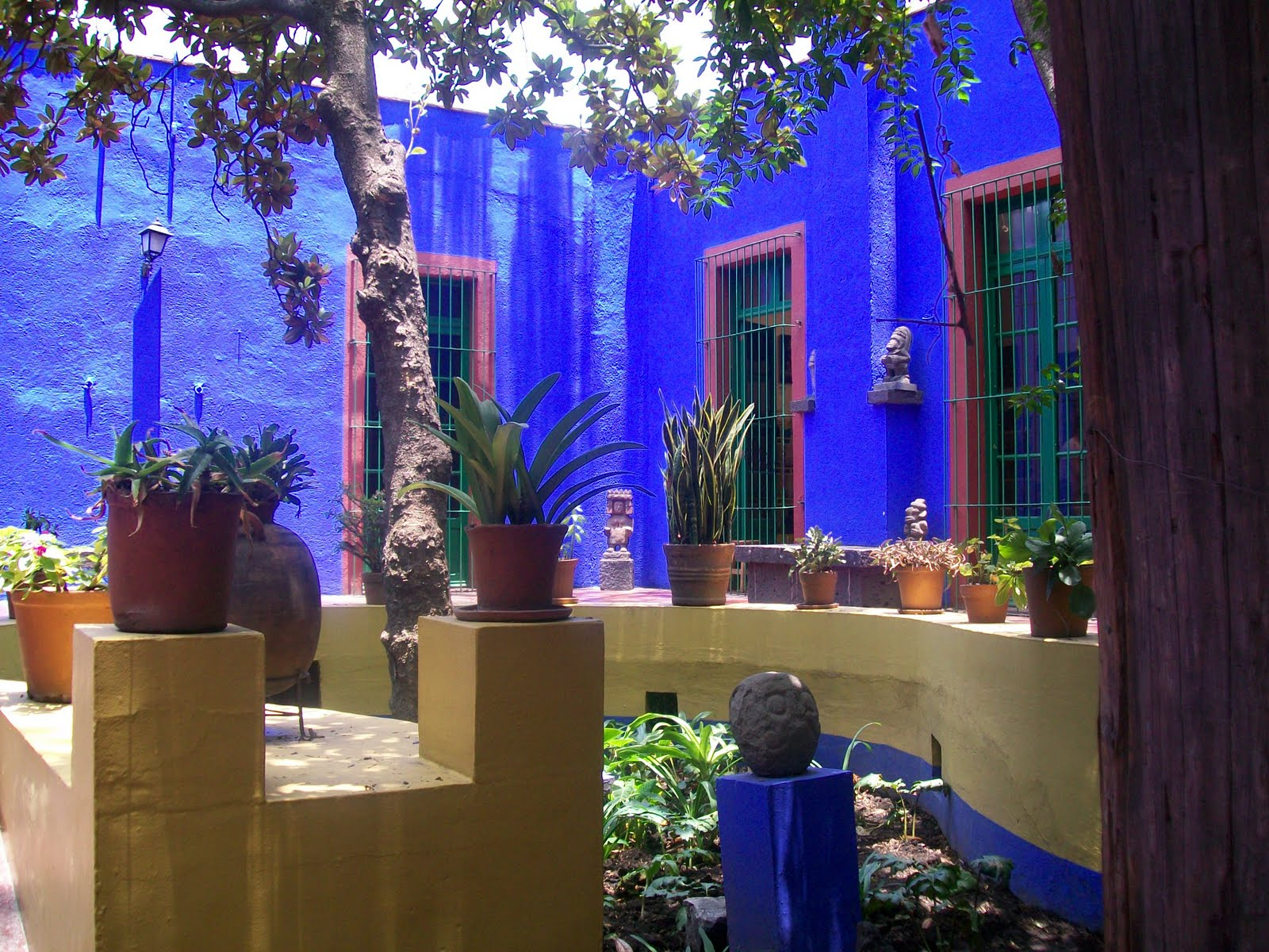 Being able to visit Frida Kahlos house was the spiritually uplifting
