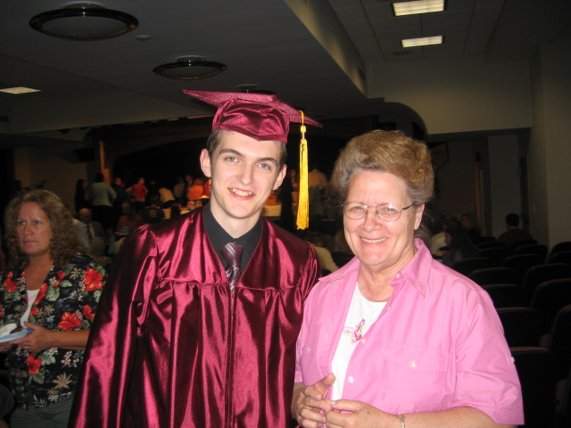 My grandma and Nephew Nathaniel