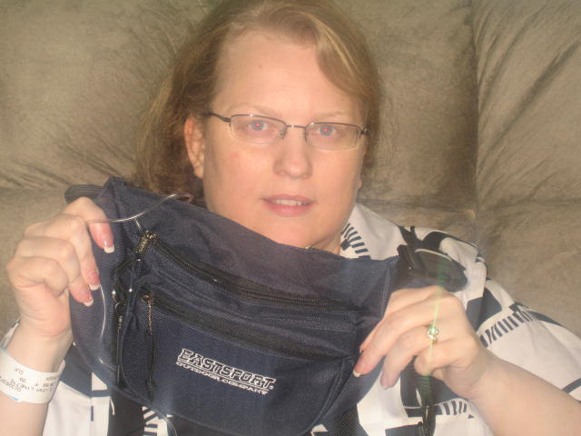 Here's the big fanny pack!