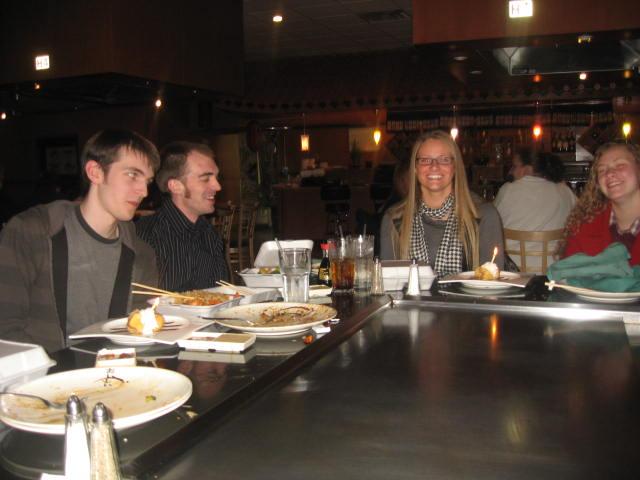 Kimberly, Angela, Andrew and Nathaniel