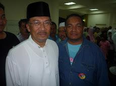 Bersama DS Anwar Ibrahim @ Tasik Puteri Rwg