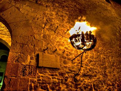 Tossa de Mar - muralla castell ences