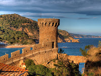 vila vella - castillo tossa
