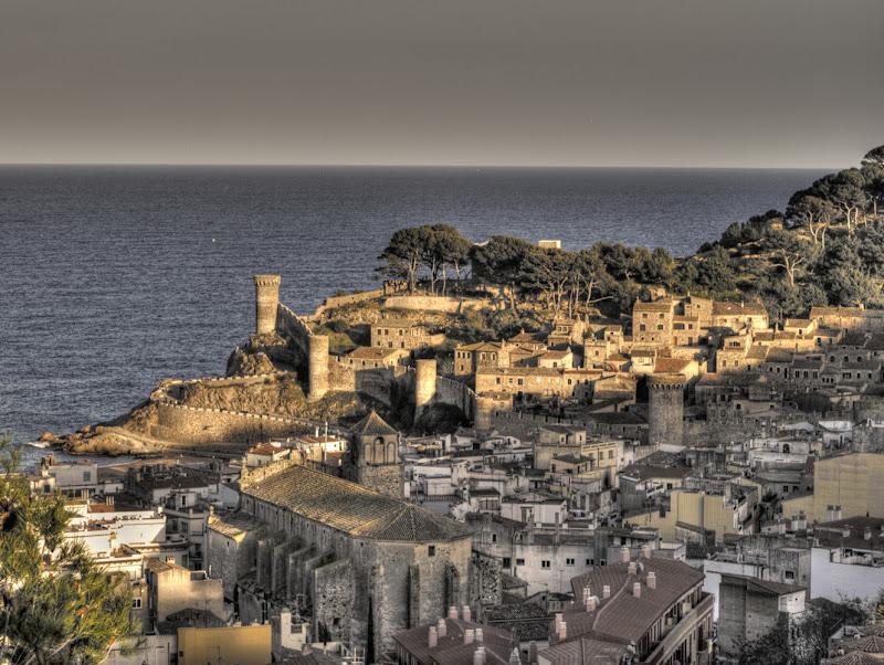 Vila Vella desde la Torre del Moro