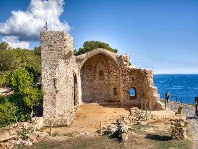 esglesia de sant vicenç de tossa de mar aprop