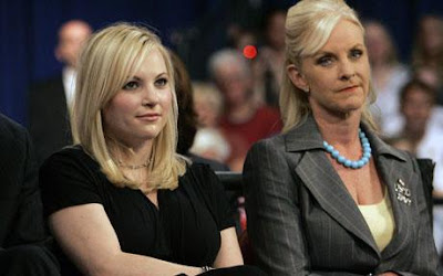 Meghan and Cindy McCain