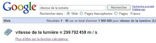 Utiser Google comme calculatrice (exemple)