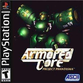 Armored Core:Project Phantasma PSX 1548tv8