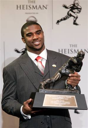 Winning: HEISMAN TROPHY WINNER Troy