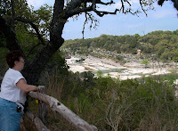 Click for Larger Image of Pedernales Falls and Cookie