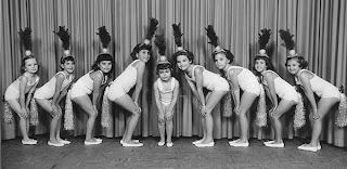 c1958 Ballet Class-Photographer Unknown